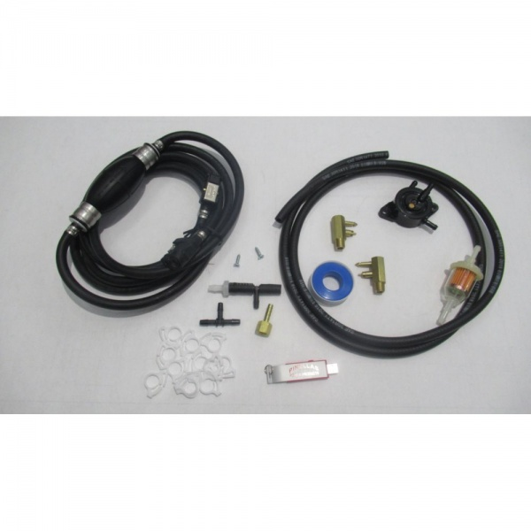 Extended Run Time Remote Fuel Tank Kit For Champion 3100 and 3400 Watt Generator