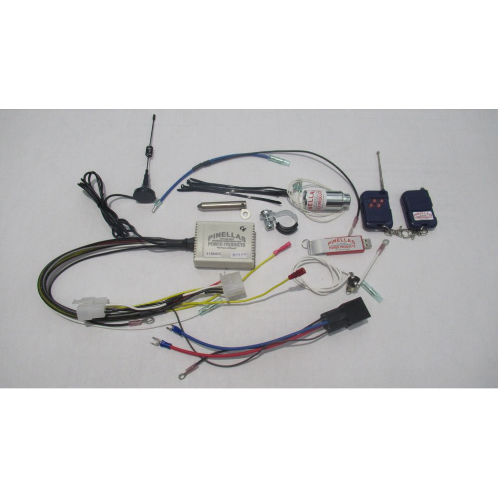 Yamaha 3000 Generator >> 4 Function Wireless Remote Control Kit for Honda EU3000iS Generator - Pinellas Power Products