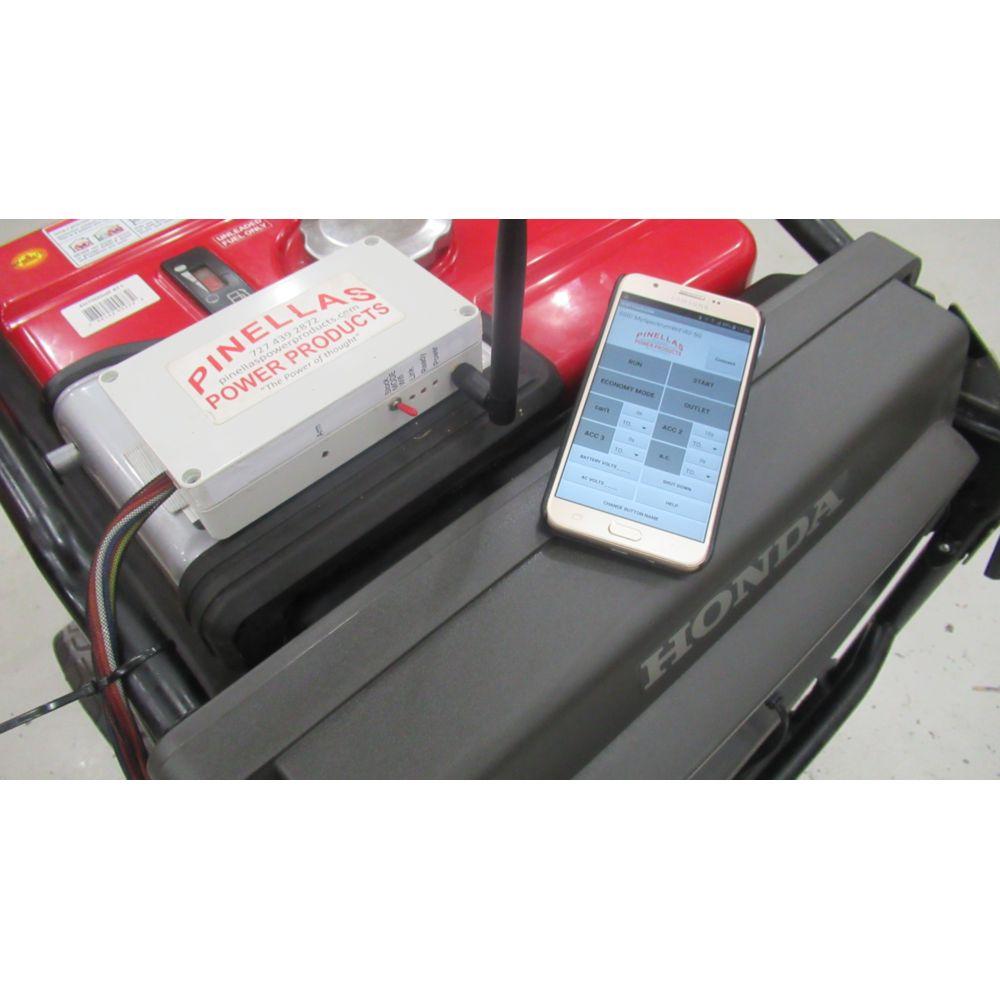 Smartphone Remote Control with Digital Dashboard for Honda EU7000iS