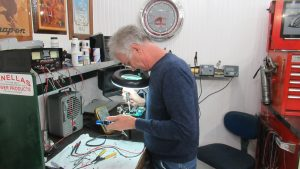 Circuit board soldering at Pinellas Power Products